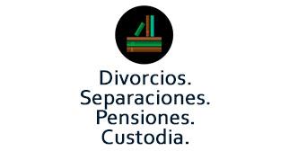Divorcios, Separaciones, Pensiones, Custodia compartida.